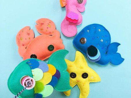 Make: Under the sea fishing game
