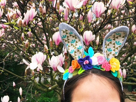MAKE: Easter BUnny Ears & shoes