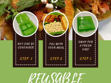 SGA Brings Reusable Take-Out Containers to Commons