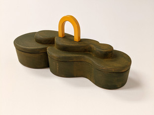 Green Cloud Box with Golden Arch