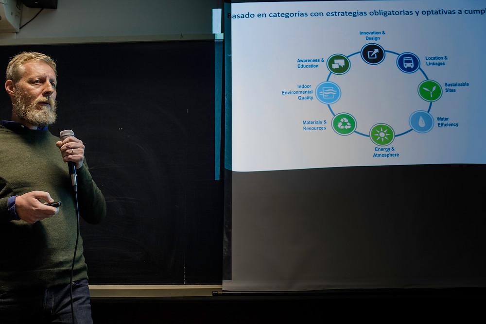 Gustavo Goldman - Conferencia Certificación de Edificios Sustentables - UYGBC - Universidad de Montevideo - 2018