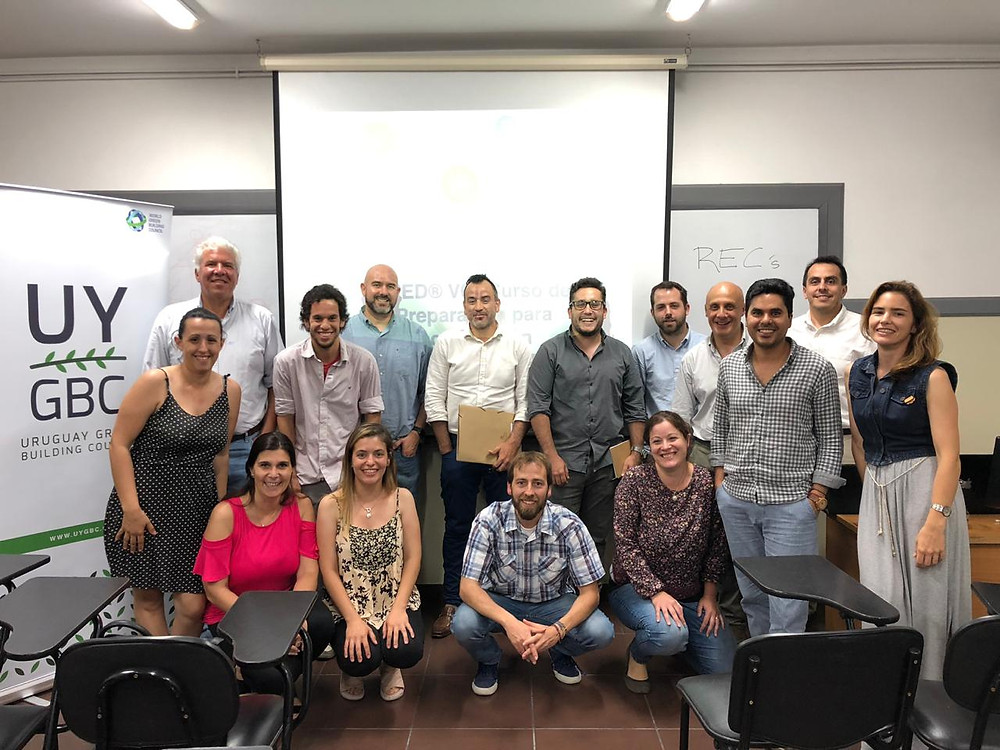 Curso de Leed - Green Associate - Universidad de Montevideo - 2018