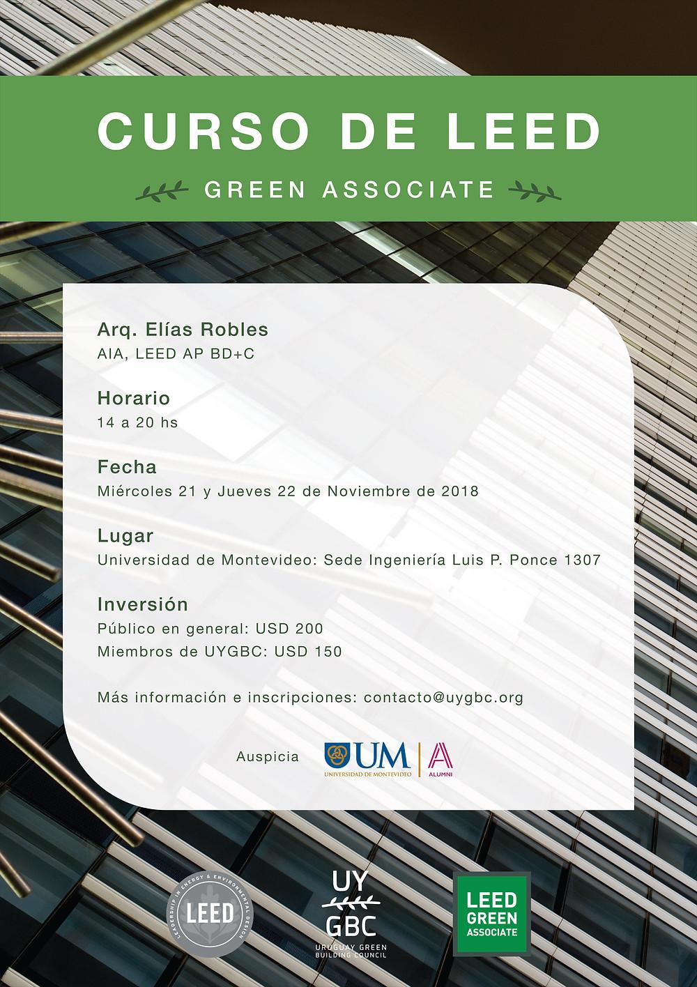 Curso de Leed - Green Associate - 2018