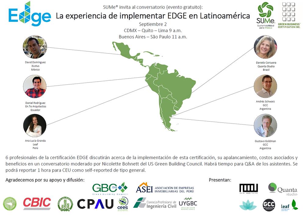 Webinar EDGE en Latinoamerica