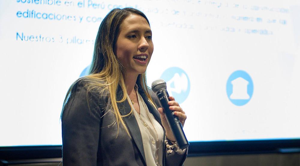 CEO Perú Green Building Council - Francesca Mayer