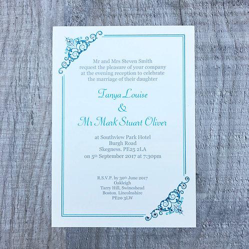 Disney Princess Wedding invite