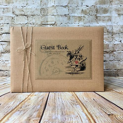 Alice in Wonderland Guest Book