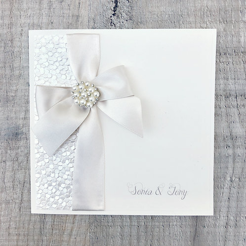 Beautiful classic wedding Invitation