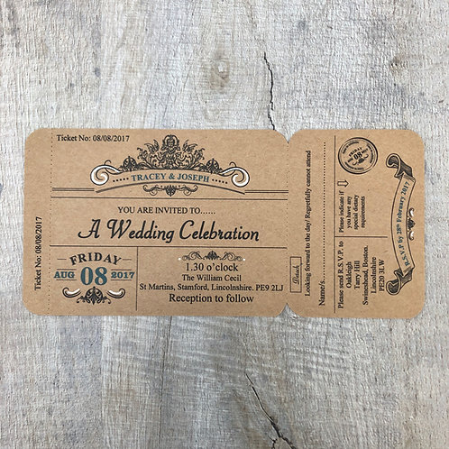 Vintage Theater Ticket