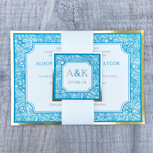 Indian wedding invites