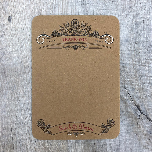 Vintage Theater (Thank You Card)
