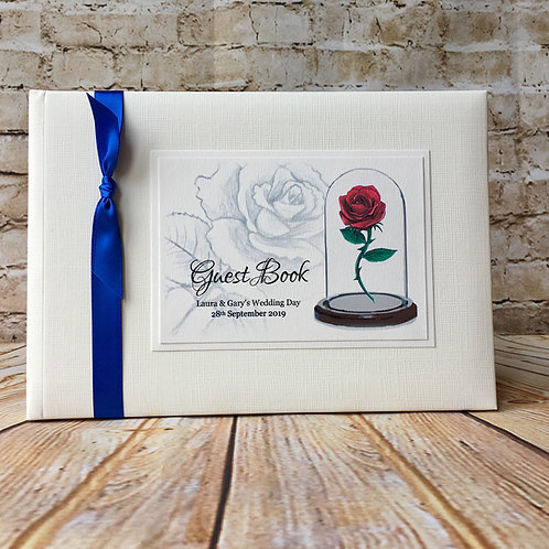 Beauty & the Beast Guest Book