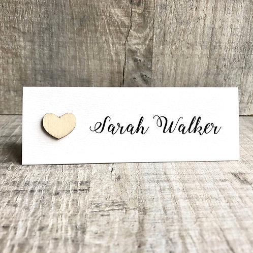 Simple Name Place Cards