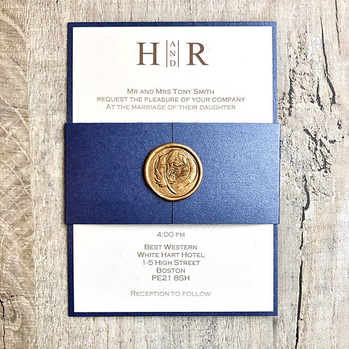 Wax Seal Wedding Invites