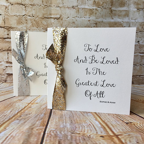 Be Loved (Classic Fold Wedding Invite)