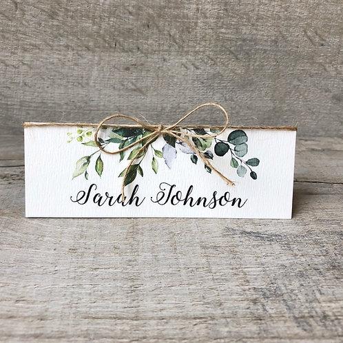 botanical name place cards