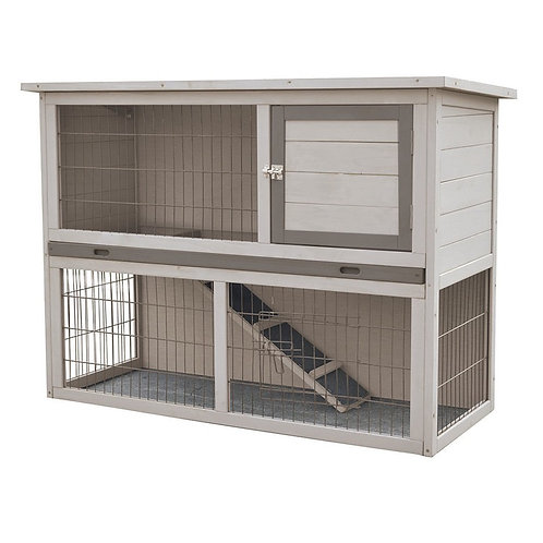 Albergo Wooden Rabbit Hutch ***Collection only***
