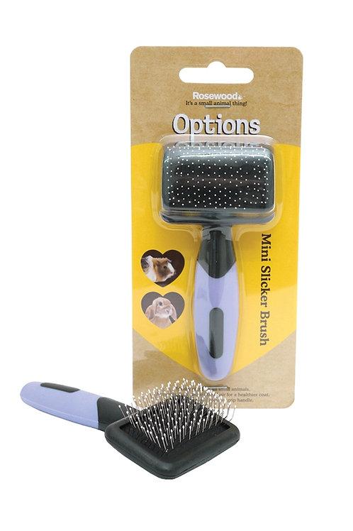 Rosewood Mini Slicker Brush
