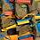 Thumbnail: Wooden Happy Hopper Hanger double