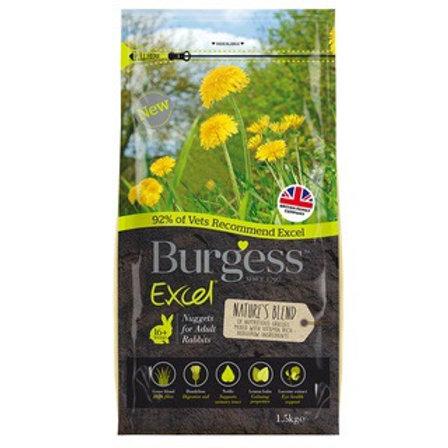 Burgess Excel Natures Blend Rabbit Pellets 2 kg