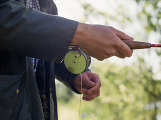 Chris Clemes fly rod and fly reel