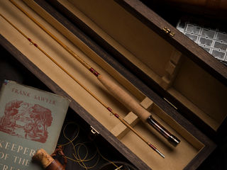 Special bamboo fly rods by Chris Clemes fly rod workshops