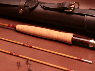 Leather rod tubes by Chris Clemes Workshops