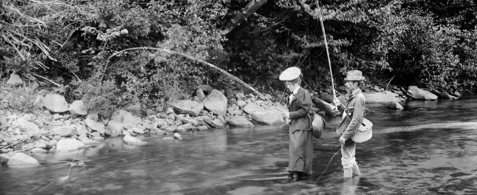 History or fly fishing in the Catskills