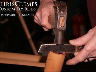 Chris Clemes bamboo fly rods handmade in England