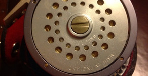 Our Maestro Fly Reel and Silk Line by Gary Hazell