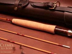 Chris Clemes Leather Rod Tube