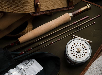 Trout rods hadmade in England