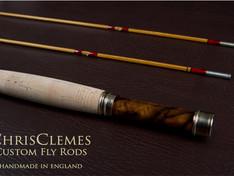Chris Clemes custom fly rod