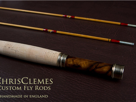 Chris Clemes custom fly rod