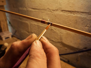 Split cane fly rods by Chris Clemes workshops England