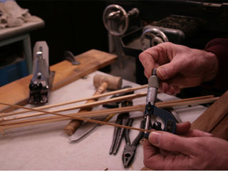 Custom bamboo fly rods by Chris Clemes workshops