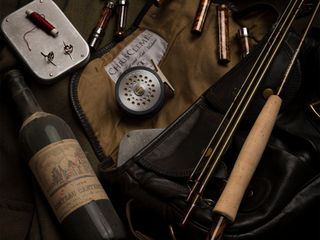 Custom fly rods made in England by Chris Clemes workshops