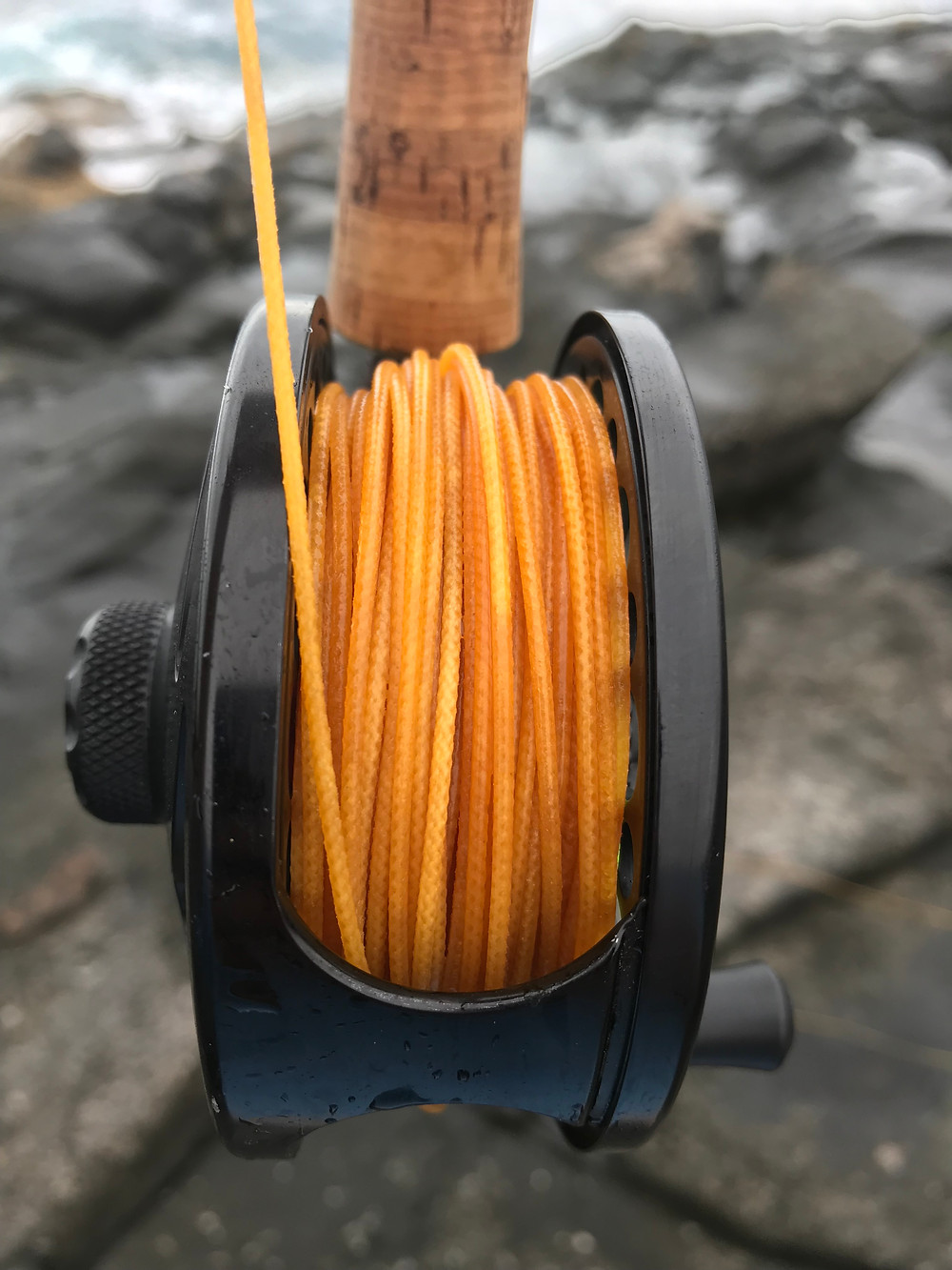 Silk fly lines generally have less diameter than synthetic fly lines