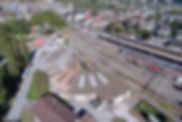 Photo avec drone - Rotonde St-Maurce