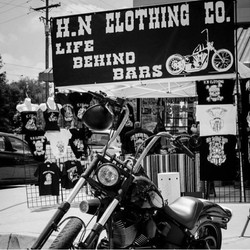 H.N. Clothing Co Booth