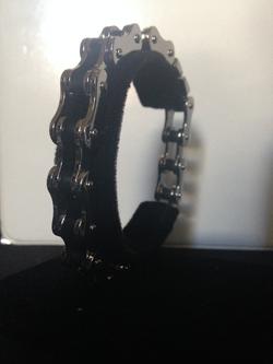 Bike Chain Black & Silver