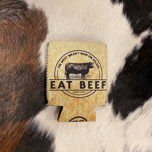 Eat Beef Koozie
