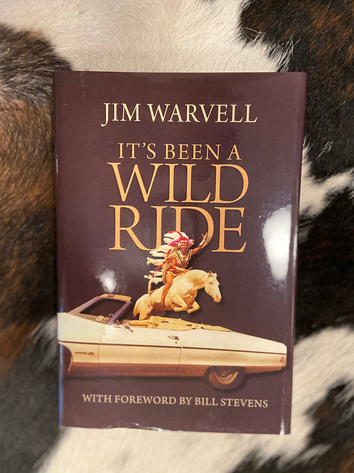 It's Been A Wild Ride hardcover book