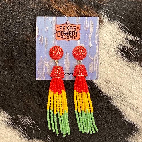 Fiesta Beaded Earrings
