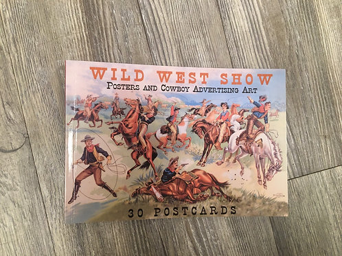 Postcards: Wild West show