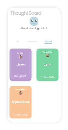 ThoughtCatch - Keep shared messages to look back on