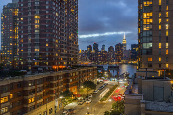 The ESB and Midtown viewed from Long Island City