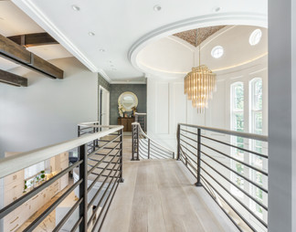 Catwalk in High-End Home Architectural Interior New York Photography