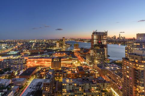 NYC, Brooklyn & Long Island City at Twilight