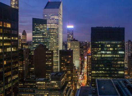 Midtown Manhattan at Twilight